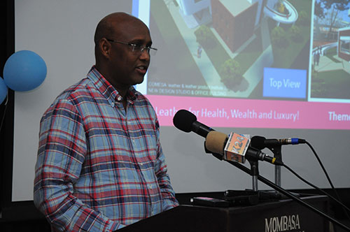 Hon. Adan Mohamed, Cabinet Secretary, Ministry of Industrialization & Enterprise Development, Launching the RDS and Website